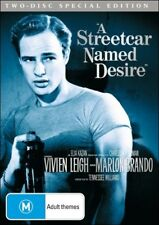A STREETCAR NAMED DESIRE (Vivien LEIGH Marlon BRANDO Kim HUNTER) 2 DVD SET Reg 4