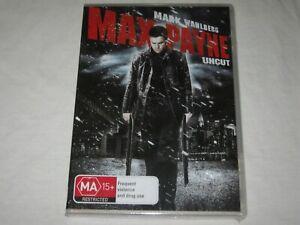 Max Payne - Uncut - Brand New & Sealed - Region 4 - DVD