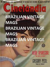 Cinelandia 1962 Gregory Peck Audrey Hepburn Jack Kelly Yvonne Romain Wood