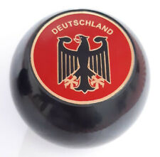 DEUTSCHILAND RED - BLACK BALL BEETLE GEAR Selector KNOB SHIFTER STICK VW BUG T2