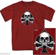 T-Shirt MC SPADE SKULL - Taille M - Style BIKER HARLEY