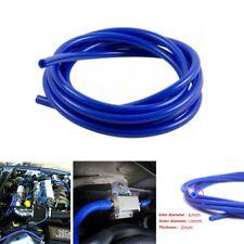 Blue 6mm Blue Car Vehicle Silicone Tubing Vacuum Tube Hose Tubing Pipe 16.4ft 5M