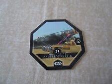 "Carte Leclerc Star Wars ""Rogue One"" N°37 - Module de course d'Anakin (2016)"