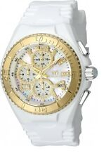New Womens Technomarine 115275 Cruise Jellyfish Chrono MOP Diamond Dial Watch