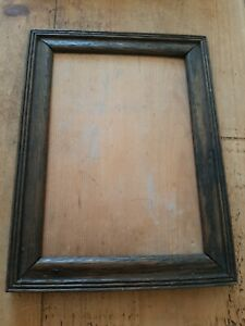 Vintage / Antique Old Small Wooden Picture Frame Photo Frame No Glass