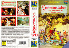 "VHS - "" SCHNEEWITTCHEN ( Cannon Movie Tales: Snow White ) "" (1988) - Diana Rigg"
