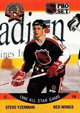 1990-91 Pro Set #347 Steve Yzerman
