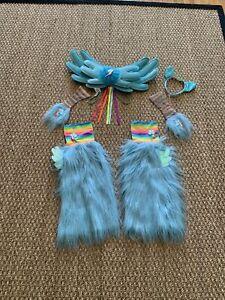 My Little Pony Rainbow Dash Dress Up Halloween Costume Furry Leg Warmers +