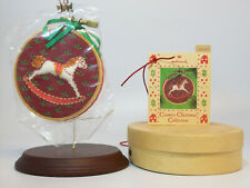Hallmark Vintage Keepsake Ornament 1985 Rocking Horse Memories - #QX5182