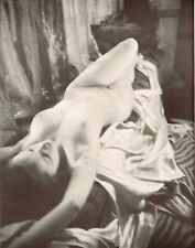 1930's Vintage Alfred Cheney Johnston Indoor Female Nude Photo Print