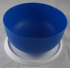 Tupperware Ergonomica Ergonomic 4,3 l Schüssel mit Deckel Blau Neu OVP