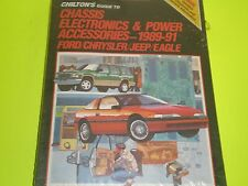 1989-1991 FORD/CHRYSLER/JEEP/EAGLE CHASSIS ELECTRONICS & POWER ACCY CHILTON