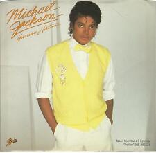MICHAEL JACKSON  Human Nature / Baby Be Mine 45 with PicSleeve