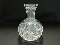 American Brilliant (ABP) Deep Cut Glass Hobstar Swirl Water/Wine Carafe/Decanter