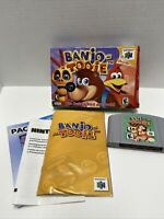 Banjo-Tooie (Nintendo 64, 2000) Complete - Tested - Authentic - N64 CIB See