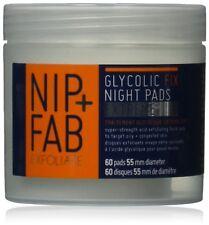 Nip Fab Glycolic Fix Extreme Night Pads Exfoliate Improving Skin 60 pads 80 ml