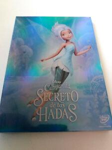 """DVD """"CAMPANILLA EL SECRETO DE LAS HADAS"""" PRECINTADO SEALED CON FUNDA CARTON SLIP"""