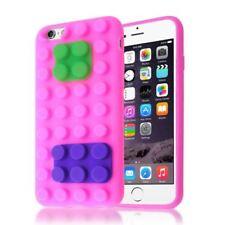 Fundas y carcasas transparentes Para iPhone 6s color principal rosa para teléfonos móviles y PDAs