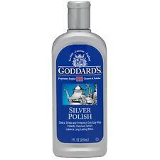 Goddards SILVER POLISH 210ml Instantly dissolves Tarnish