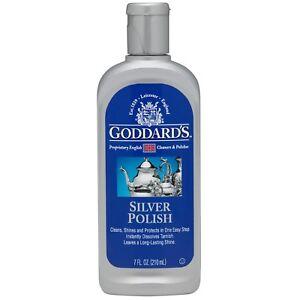 SILVER POLISH Goddards 210ml Instantly dissolves Tarnish