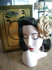 Dita Von Teese Vase Glamour Girl Gilded Rose Rose Dorée