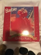 120 pc Puzzle Limited Edition Barbie 1990 Doll