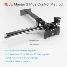 Neje Master 2 Plus 30w Cnc Laser Engraving Machine Engraver Cutter Printer Q9r5