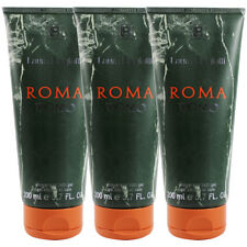 Roma Uomo by Laura Biagiotti for Men Combo Pack: Shower Gel 20.1oz (3x 6..7oz)