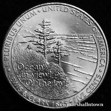 2005 P Jefferson Ocean View Nickel ~ Uncirculated U.S. Coin from Bank Roll