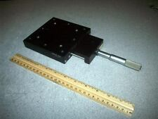 Parker DAEDAL :: Single Axis Adjustable Linear Stage with Micrometer