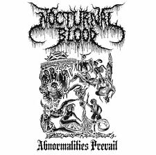 NOCTURNAL BLOOD - Abnormalities Prevail (CD) Archgoat Beherit