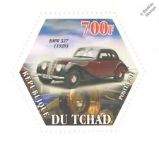 1939 BMW 327 Coupe Classic Automobile Car (Hexagonal) Stamp