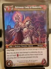 SYLVANAS, LADY OF UNDERCITY World of Warcraft WoW TCG ARCHIVES PROMO FOIL EPIC