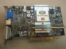 Sapphire ATI Radeon 9600 pro, 128mb rda, DVI, TV-Out, tarjeta gráfica