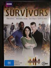 Survivors : Complete Series 1, BBC (DVD, 3-Disc Set, Region 4, Like New) g13