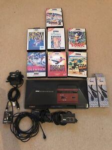 Sega Master System 1 With Games