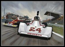 Print on canvas 1975 Dutch Grand Prix at Zandvoort by Toon Nagtegaal (LEF)