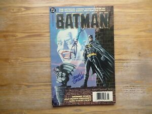 1989 BATMAN MOVIE ADAPTATION SIGNED BY JERRY ORDWAY & DENNY ONEIL, COA & POA