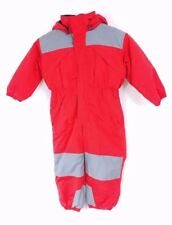 Sportscaster Insulated One Piece Snow Suit for Kids, size Toddler 4 WINDPROOF