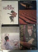 Jimi Hendrix Led Zeppelin Stevie Ray Vaughan Hard Acid Classic Rock CD Lot Set
