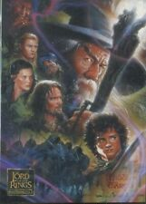Lord Of The Rings Masterpieces 2 Complete Trading Card Base Set