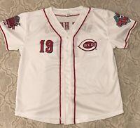 Cincinnati Reds Red Heads Jersey - Adult S/M - 150th Anniversary Season
