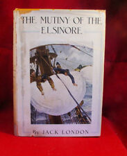 Jack London THE MUTINY OF THE ELSINORE 1st in DJ Super Rare Last Time Offered