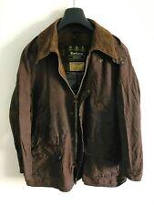 Mens Barbour Bedale wax jacket Brown coat 42in size Medium / Large M/L #7
