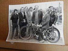 Original Photo of Bellevue Aces Legend Bill Kitchen on A bike 1970's 7x5 inch