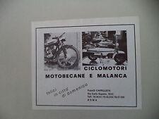 advertising Pubblicità 1973 MOTOBECANE MOBYX 50