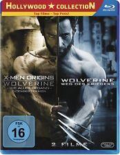 X-MEN ORIGINS: WOLVERINE + WOLVERINE: WEG DES KRIEGERS (2 Blu-ray Discs) NEU+OVP