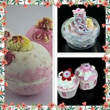 Handmade Strawberry Gift Set with Whipped Soap, Jumbo Bath Bomb and Bath Creamer