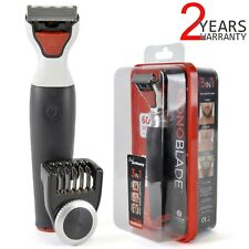 3 In 1 Mono Blade Trims Shaves And Styles Any Hair Length Men Beard Grooming