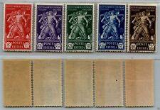 ERITREA - 1930 - Pro Istituto Coloniale Italiano (S.39) serie completa - MNH